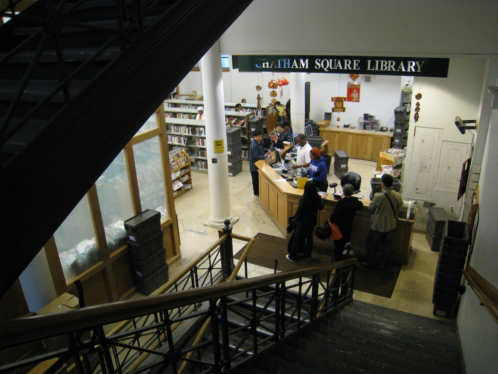 Chatham Square Library, NYC