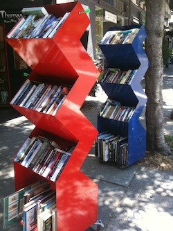 Outdoor Bookshelf, Berkeley CA